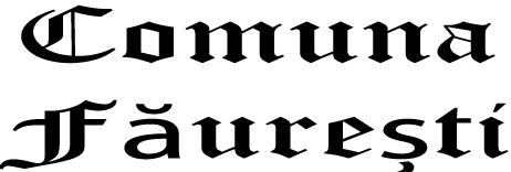 Comuna  Fauresti